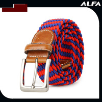 2016 Newest Fashion Canvas Belt, Braided Belt, Fabric Belt