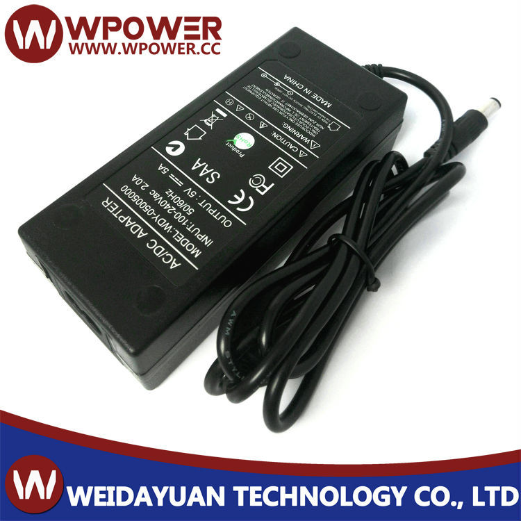 5V5A 25W AC To DC Switching Mode Power Supply Adapter