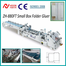 ZH-880FT Automatic Small Paper Box Making Folder Gluer Machine