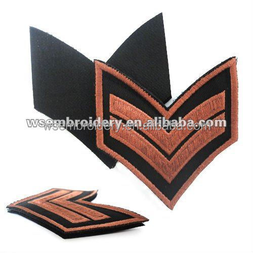 High Quality Logo Embroidery Emblem In Uniform