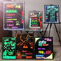 LED Sign Hand Writing Board Writable Fluorescence hand Writing Board