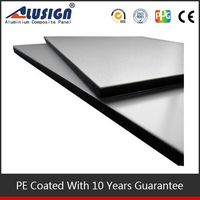 Alusign hot sell acp new style building & construction protection board