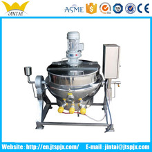 Tilting Steam Jacketed Boiling Pan with Agitator