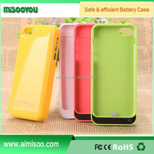 Competitive price OEM brands Long lasting charging case best selling for iphone 5 5s