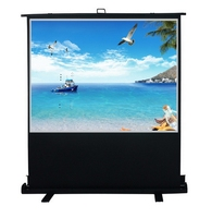 Cheap promotional 3g floor stand led touch screen