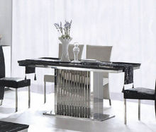 CT845 pictures of stainless base dining table Simply, fashional design