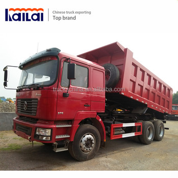 25 tons Dump Truck Camion Shacman 6x4 Tipper Truck For Sale