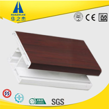 High quality sliding window sash white pvc scrap profile