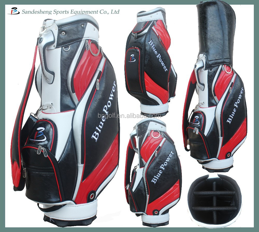 high quality brand golf bags genuine leather