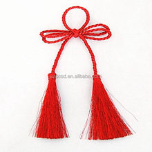 Good quality promotional tassel trim fringe for curtain