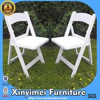 heavy duty white wedding folding chairs for party