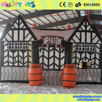 Best quality fashionable inflatable buildings,inflatable bar,inflatable bar tent