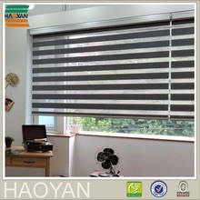 HAOYAN rainbow colored zebra day night window roller blinds