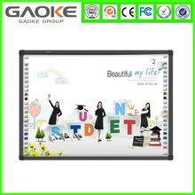 School smart classroom project interactive whiteboard with short throw projector smart interactive board