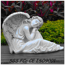 Funny resin angel girl/china manufacture custom resin figurine