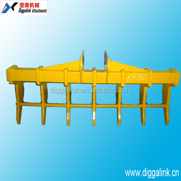 Mini Excavator Part Root Rake