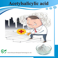 High quality Aspirin with 99% pure CAS:50-78-2 Acetylsalicylic acid