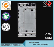 China manufacturer mobile phone mid Bezel - CNC Machining mid frame - Aluminum Die Casting mobile phone mid frame