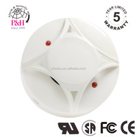 CE approved fire detector with Remote LED flash photoelectric smoke detector