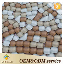 Wholesale New Products Wear Resistance Kerala Glass Mosaic Tiles