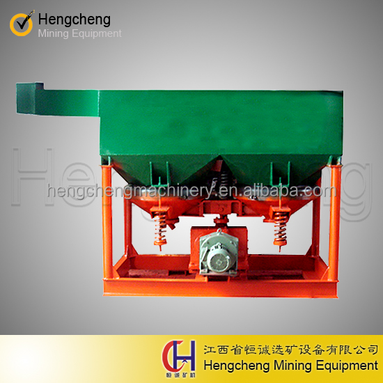 ore concentrator alluvial gold extract equipment JT1-1 Saw-Tooth Wave Jig