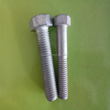 carbon steel galvanized m20 grade 4.8 8.8 hex bolt
