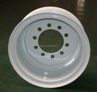 High quality 8.25*22.5 19.5x6.75 19.5x7.50 truck steel wheels