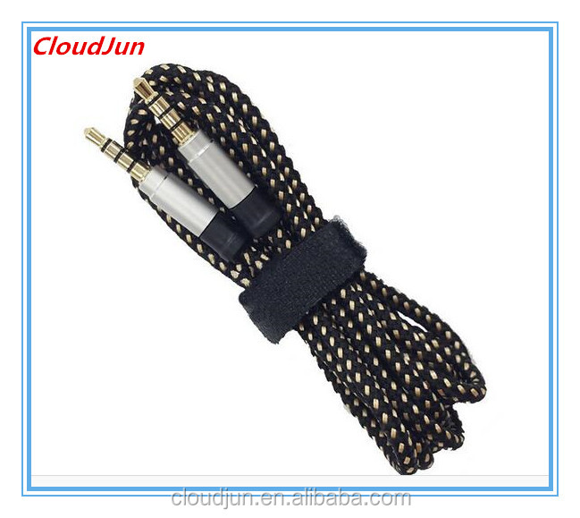 Custom 2 male 3.5mm 8 pin audio/ video cable