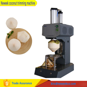 NEWEEK automatic electric skin peeling coconut machine for sale