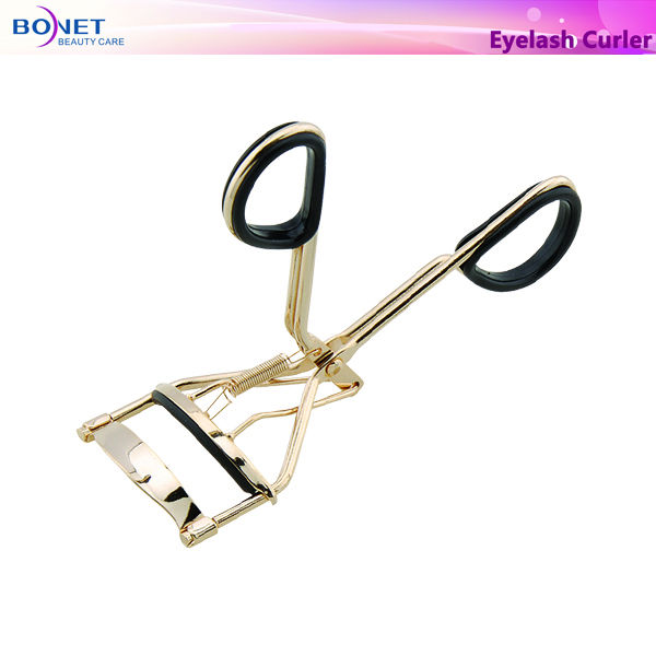EC2002 FDA certificated Gold Plating Kingly tweezers eyelash curler