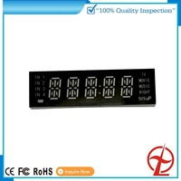 China high quality 7-segment dight full color transparent led display