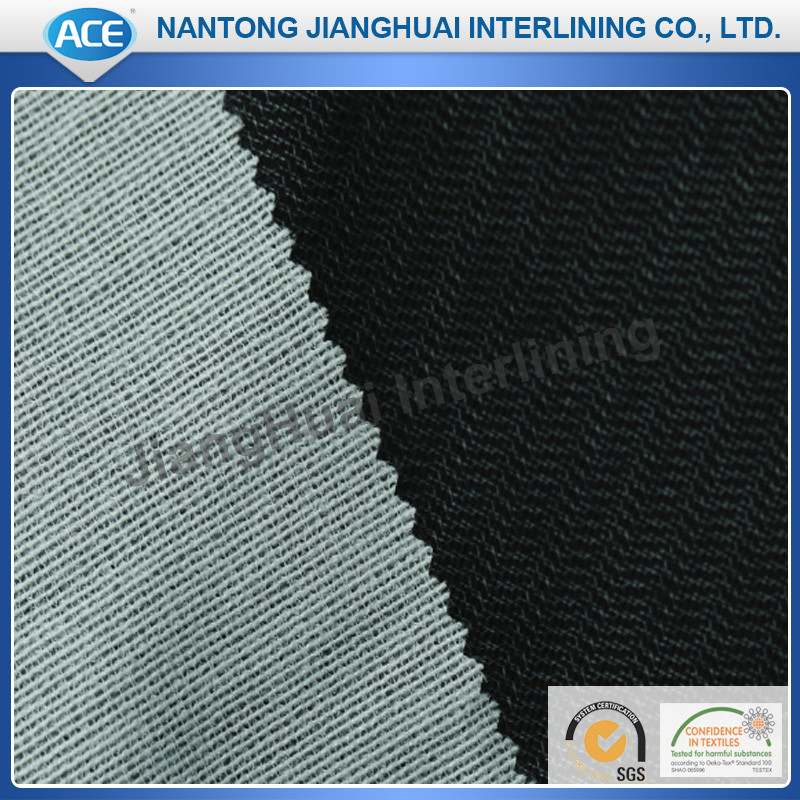 Liner nonwoven fabric for garments or bags