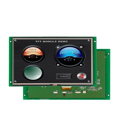 "10.1"" TFT LCD controller GUI design graphic and text mix display with UART port"
