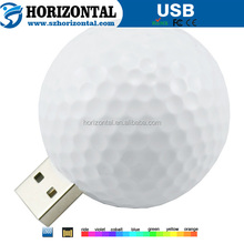 Shenzhen Electronic white Golf USB flash drive for promotional gifts