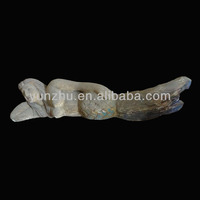 Archaize Do old wooden carving horizontal type mermaid, wooden statues,Religious sculptures