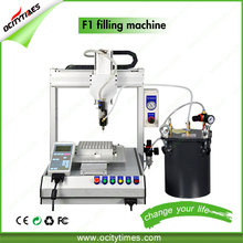 Full-Auto Cartridge Silicone Sealant Filling Machine co2 cartridge hemp thick oil cartomizer cbd oil filling machine