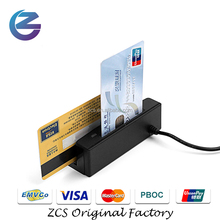 ZCS100- IC PC smart EMV Chip card reader/ writer + magnetic card reader