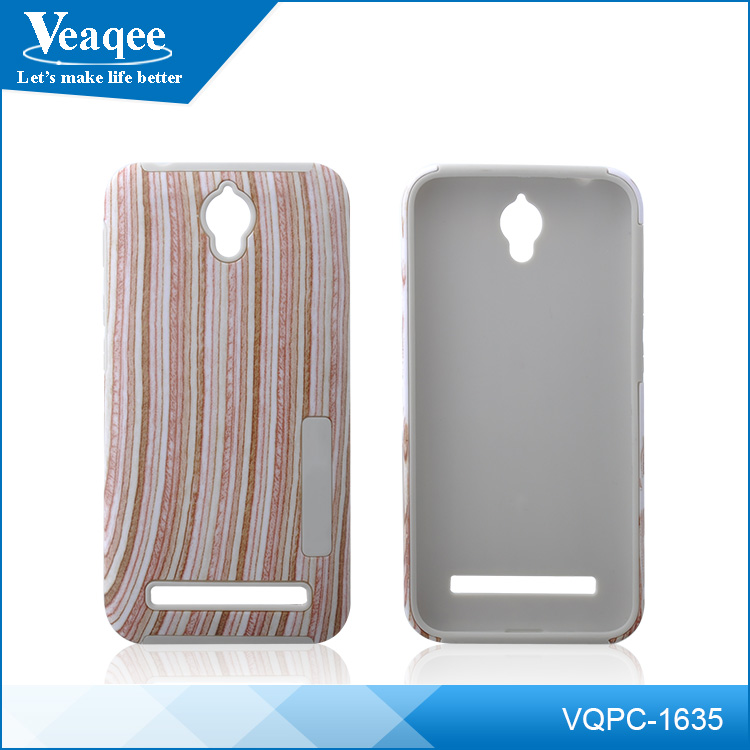 Veaqee shockproof Wood + TPU back cover case For iPhone 6 plus