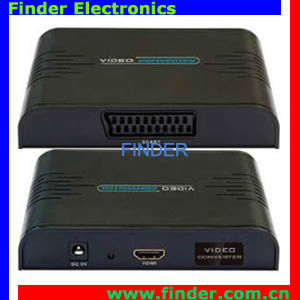 HDMI to SCART Converter Which Allows to Enjoy High Definition Movies and Games on the Older Scart TV