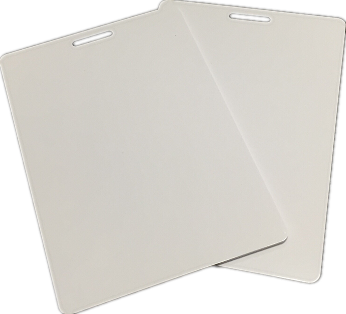 ISO18000-6C Class 1 Gen 2 Monza4 UHF RFID blank <strong>card</strong> for access control system