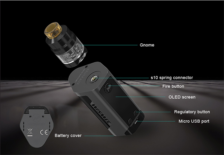 Alibaba Stock Price Wismec Mod Kit Wismec Reuleaux RX GEN3 Kit VS Wismec Predator Kit from Ave40