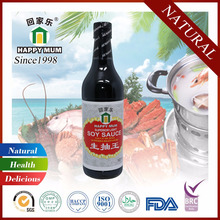 Natural Chinese HACCP Light Soy Sauce for Japanese Cooking