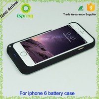 Unique design back up power bank case for iPhone 6 3200mah portable battery case charger for iPhone 6 4.7