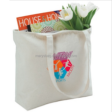 Full Color Cotton Zippered Custom Tote Bag
