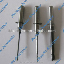DLC coating dental milling cutters for Wieland mini machine dental instruments