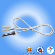 4 Core Silicone Wire White Stainless Steel Screw Shell Heat Probe 1/2 Wire Infrared NTC Temperature Sensor 10K 50K 100K 200K