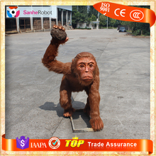 Zoo/Park Animal Kingdom Lifesize High Quality Animatronic Monkey