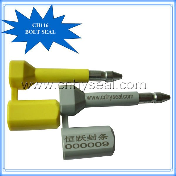 CH116 high secure bolt seal customs