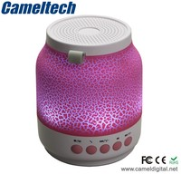 New style wireless bluetooth lighted speaker,led flashing light speaker,best light up computer speakers