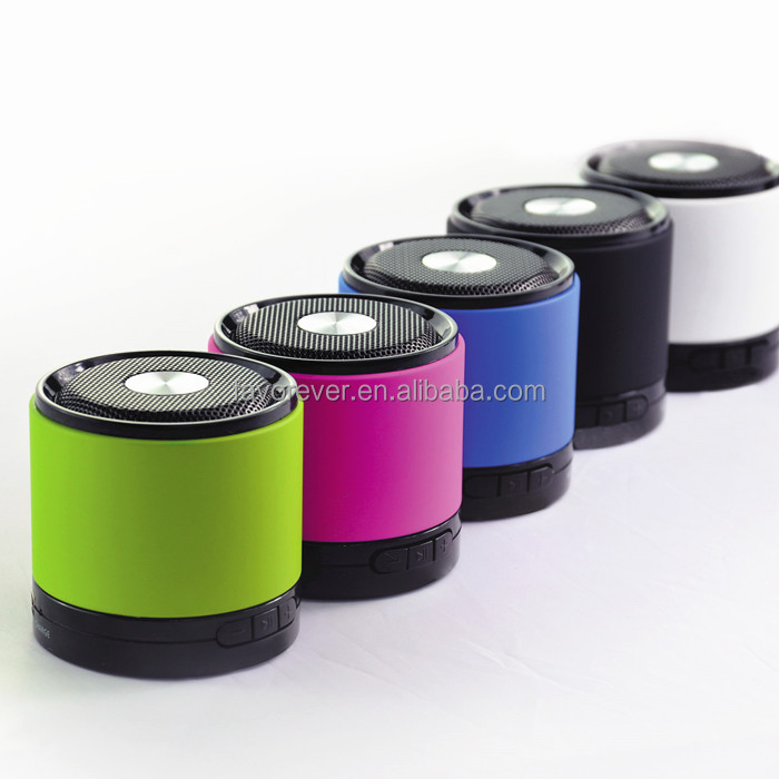 2015 New fashion design OEM/ODM multimedia stereo wireless portable bluetooth speaker with mic input